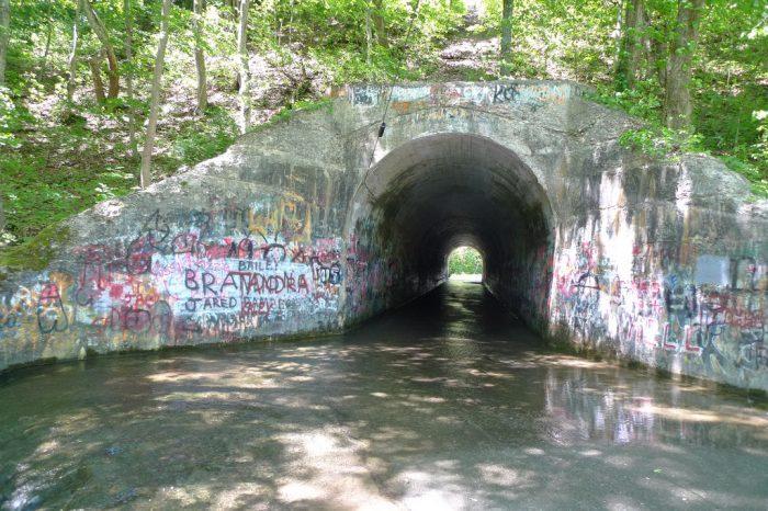 13. Tennessee: Sensabaugh Tunnel, Kingston Springs