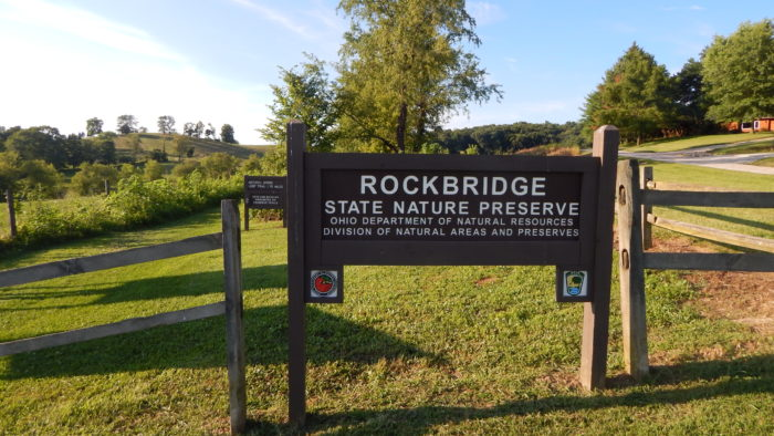 You'll find the nature preserve right off of U.S. Route 33 on Dalton Road.