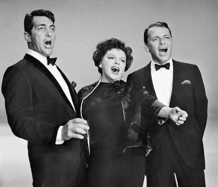 Dean Martin, Judy Garland and Frank Sinatra 1962
