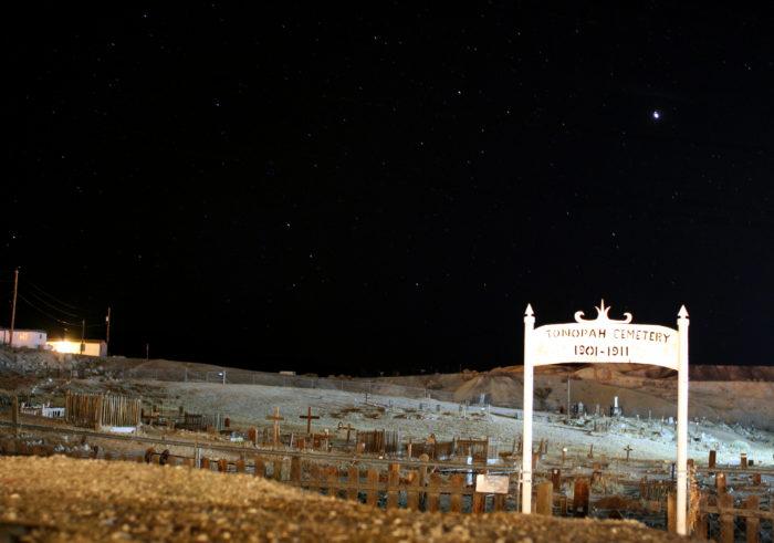 Desert Cemetery Night-16619760035