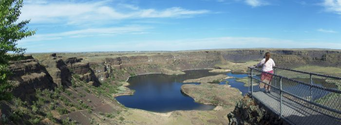 2. Dry Falls in Central Washington.