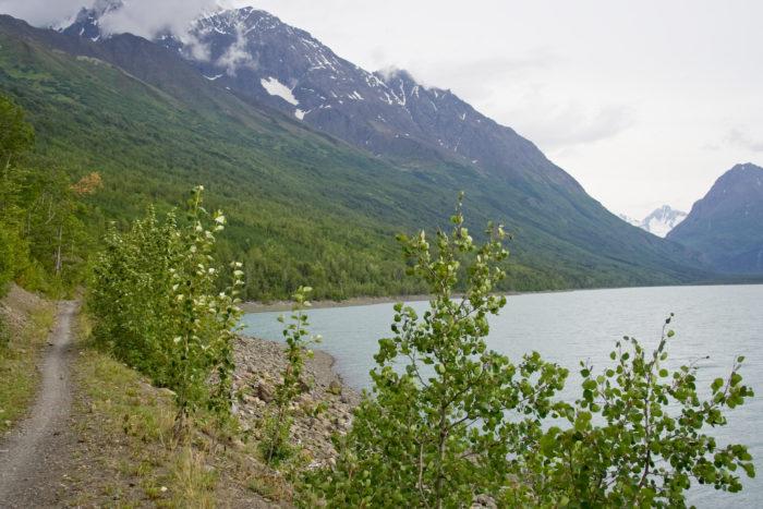 9. Eklutna Lakeside Trail – Outside Anchorage