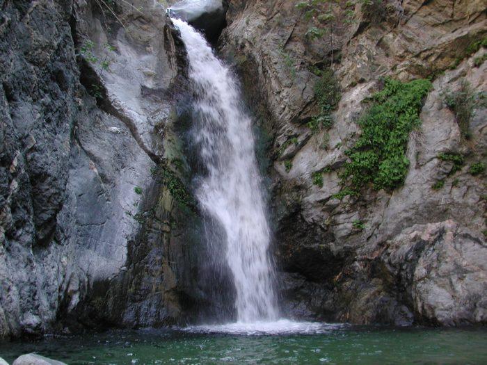 1. Eaton Canyon Falls -- San Gabriel Mountains