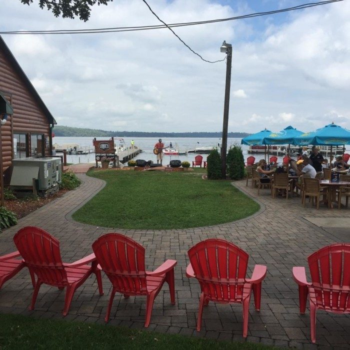 7. Kick back at Ernies On Gull and enjoy the true relaxation of a day (or more) spent in lake country.
