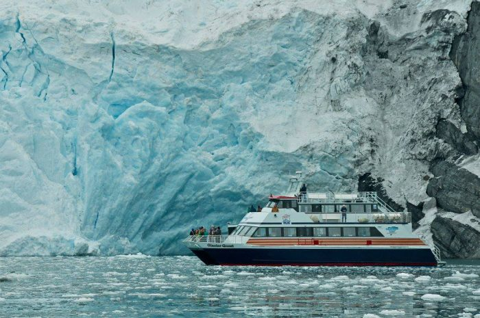 7. 26 Glacier Cruise in Prince William Sound.