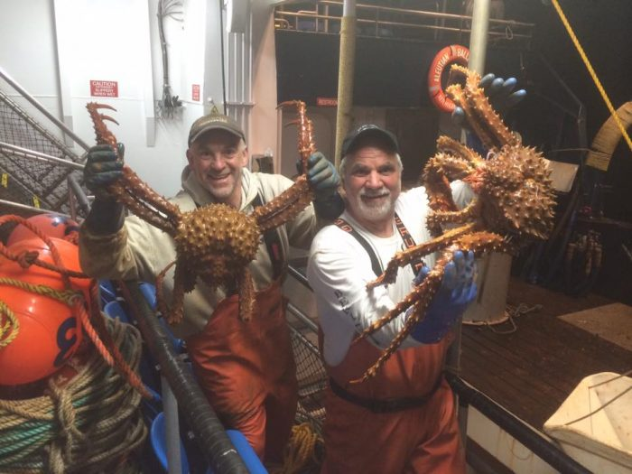 8. Bering Sea crab fisherman's tour in Ketchikan.