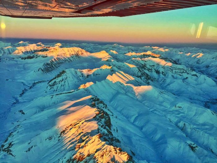 1. Denali summit flight.
