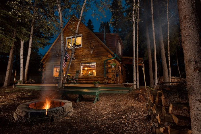 4. Moose Walk Cabin – North Pole