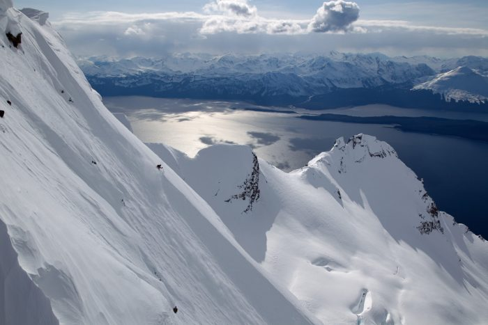 9. Heli-skiing in Haines.