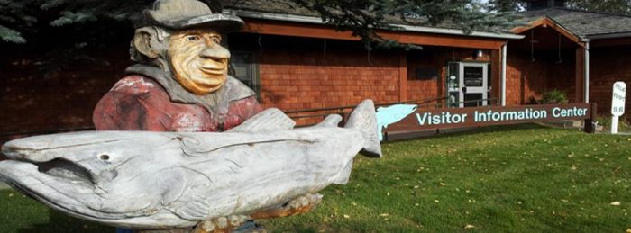 2. 97 Pound, 4 Ounce King Salmon Statue – Soldotna