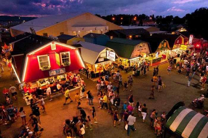 3. The State Fair of West Virginia, Lewisburg