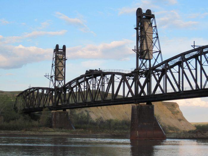The Fairview Lift Bridge