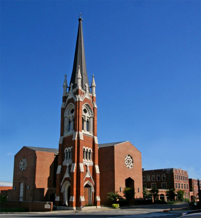 7 historic and breathtaking churches in nashville for Build on your land nashville tn