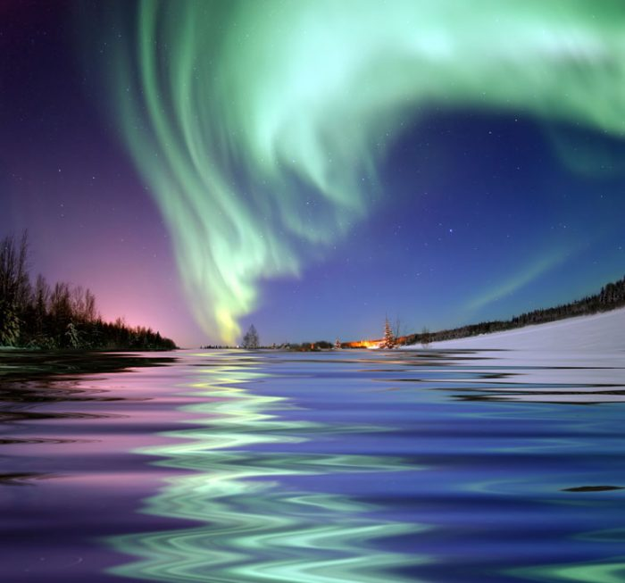 4. The Northern Lights show will suck you in and never let you go.