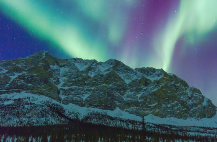 6. Aurora Borealis light shows that make it SO easy to stay up past bedtime.
