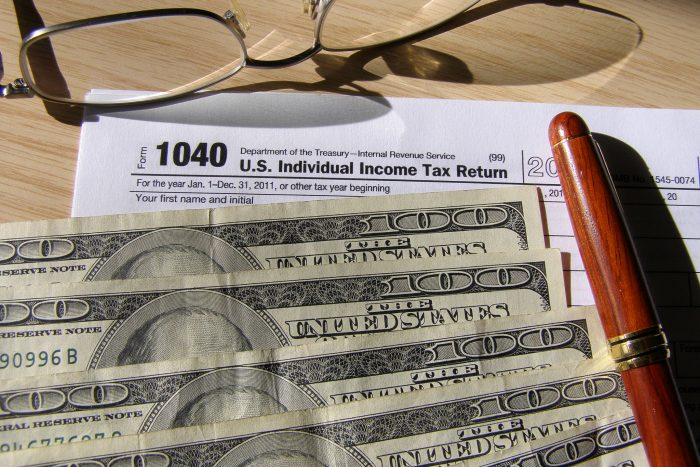 4. Sales tax or individual income tax.