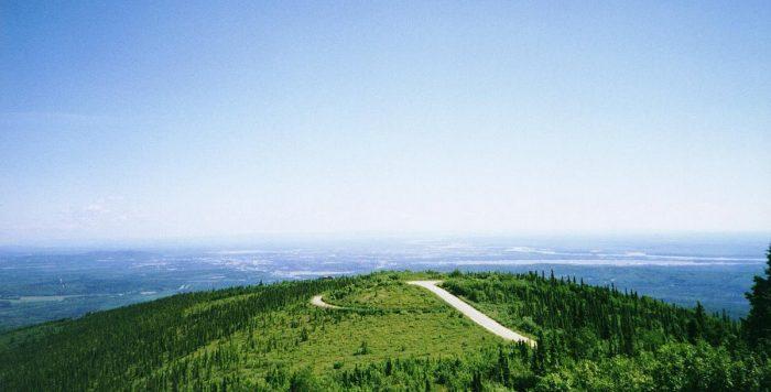 9. Ester Dome – Fairbanks