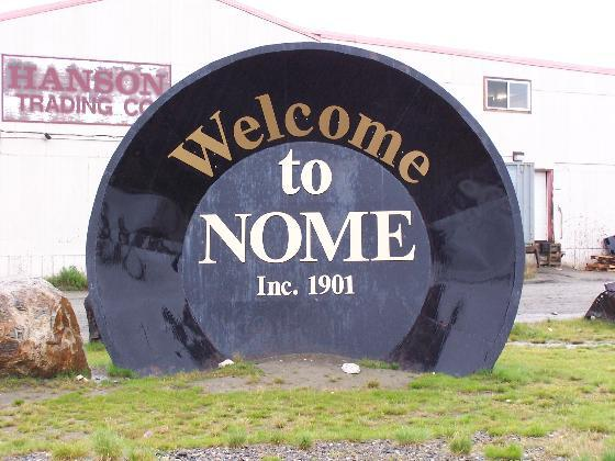 9. World's Largest Gold Pan – Nome