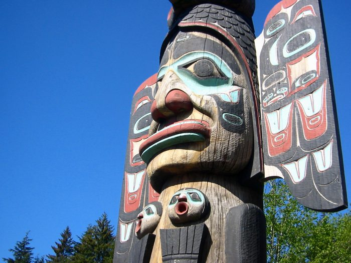 13. View the world's largest collection of totem poles in Ketchikan.
