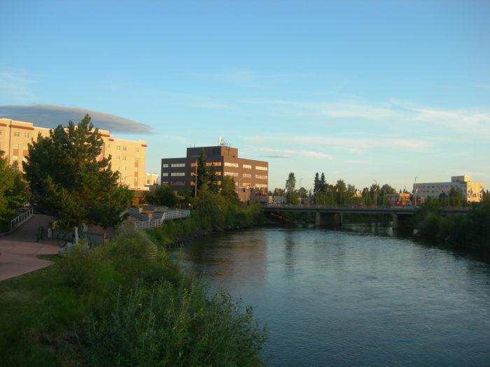 1. Chena Riverwalk – Fairbanks