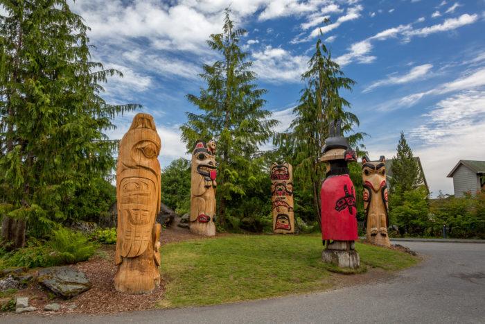 6. Totem Bight State Historical Park