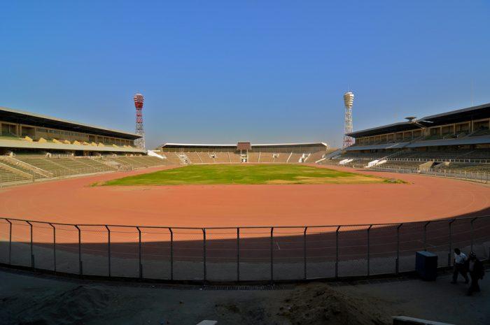 7. Professional football stadiums.
