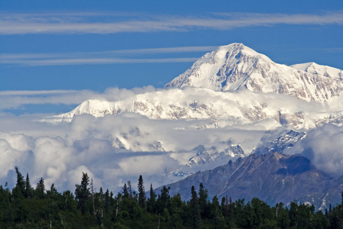 17. And the tallest mountain in North America, of course.