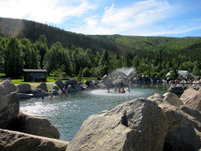 1. Chena Hot Springs – Fairbanks