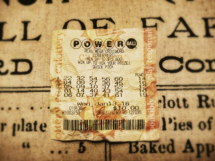 15. Powerball tickets.