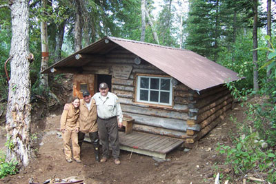 4. Stay in a remote cabin (in the peak SUMMER months) for only $40 bucks.