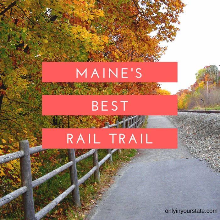 You Must Experience This Epic Abandoned Railroad Hike In Maine