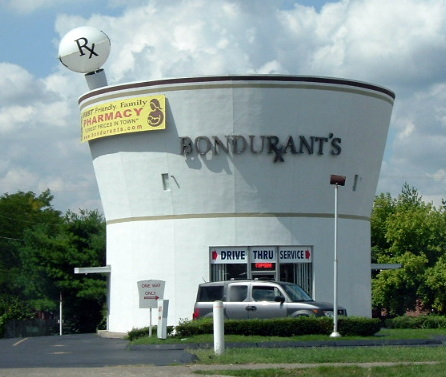 8. Formerly Bondarant Pharmacy