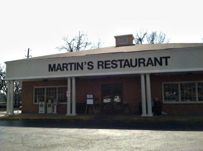 1. Martin's Restaurant - Montgomery