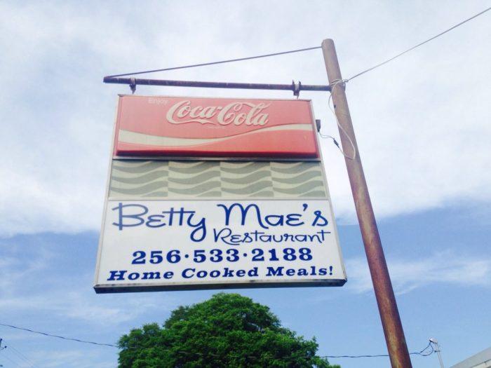 3. Betty Mae's Restaurant - Huntsville