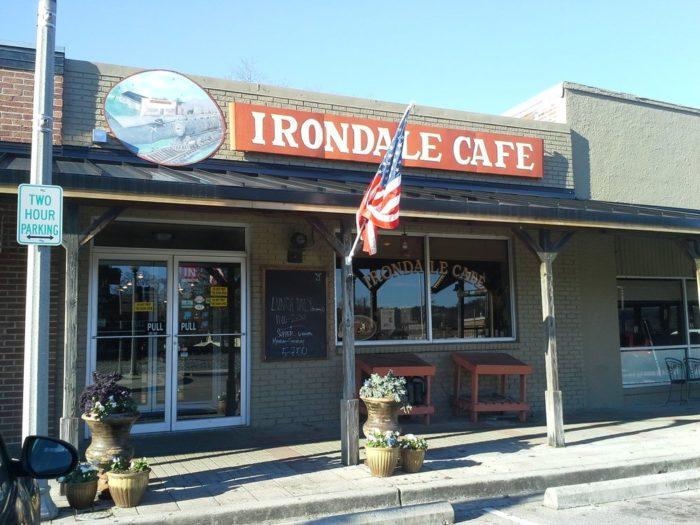 9. Irondale Cafe - Irondale