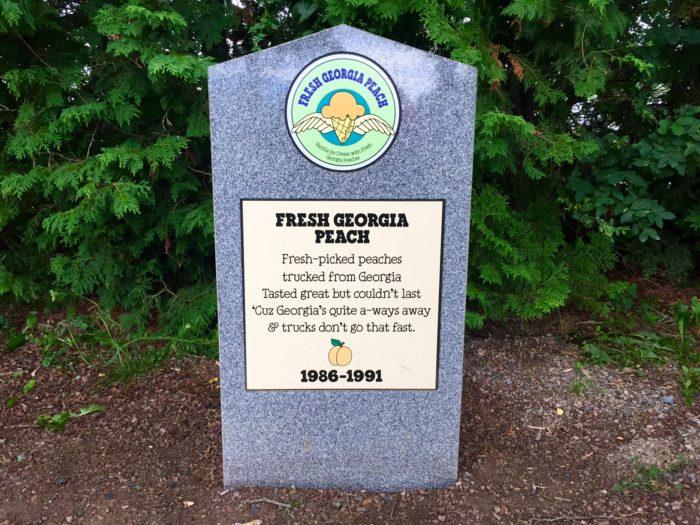 20.  Fresh Georgia Peach