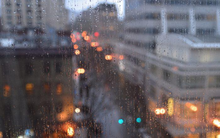 8. Because the rain comforts us.