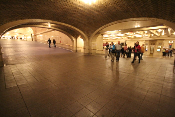 7. No, that isn't some upset New Yorker crying in the corner about taxes, it's one of Grand Central Terminal's biggest features hiding in plain sight!