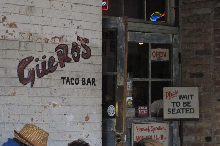 10. Guero's Taco Bar