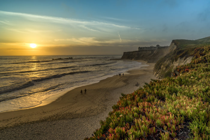 Half Moon Bay is a quaint coastal city located about 25 miles south of San Francisco.