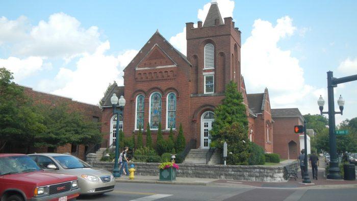 5. Historic Franklin Presbyterian Church.