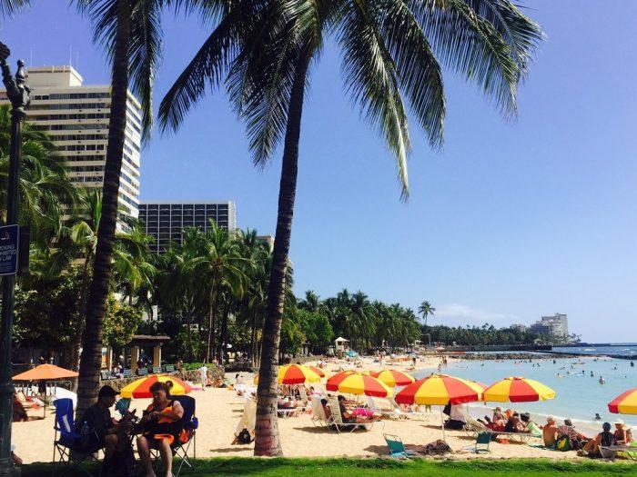1. Waikiki Beach