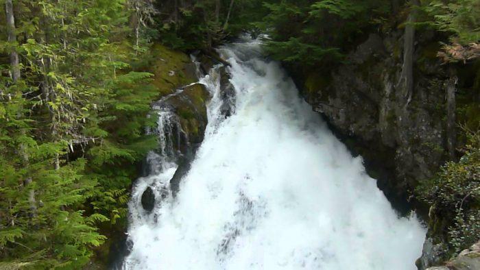 3. Hunt Creek Falls, Priest Lake