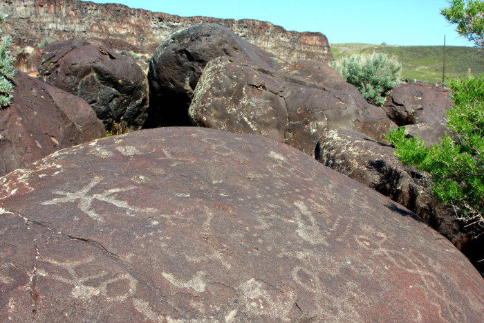 7. Celebration Park Petroglyphs, Melba