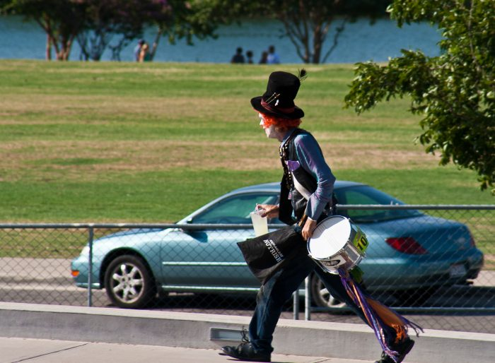 7. You never know what kind of colorful characters you'll run into.