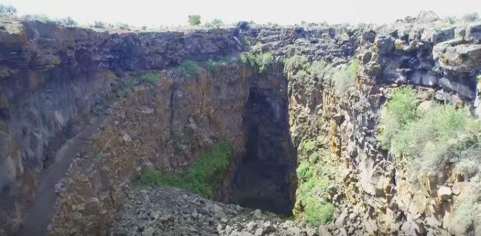 Idaho geology - Kings Bowl