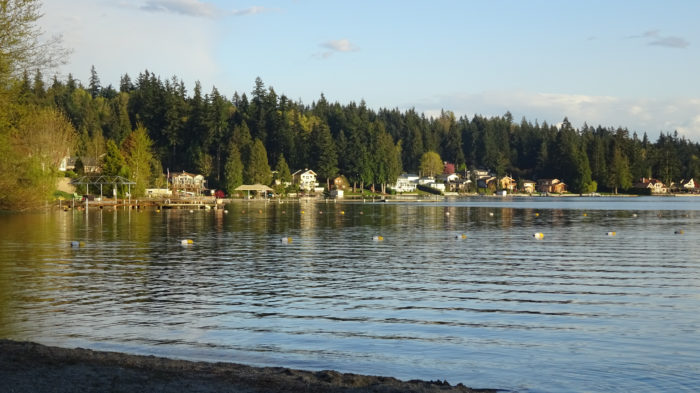 6. Swim laps through Lake Goodwin in Stanwood.