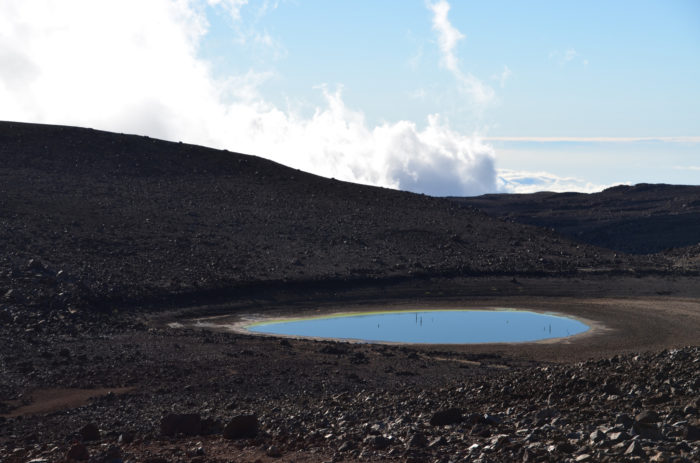 To reach this sacred lake, visitors will have to take a short, one-mile walk, found near Mauna Kea's astronomy domes. Don't underestimate this hike, though - because of the high altitude, a lack of oxygen can make movement slow and breathing difficult. The trail also provides no respite from the burning sun, and sunburn is a major threat. We suggest you stop at the Mauna Kea Visitors Center at 9,000 feet above sea level for at least 30 minutes in an attempt to avoid altitude sickness.