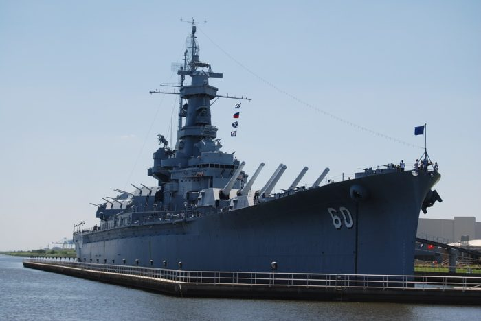 4. USS Alabama (BB-60) - Mobile