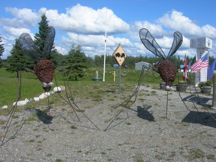 16. Mosquito Sculptures – Delta Junction
